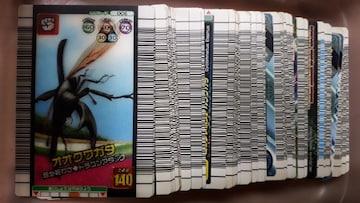 ムシキングカード149枚詰め合わせ福袋