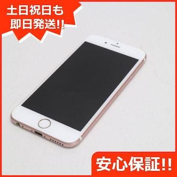 ●美品●SOFTBANK iPhone6S 32GB  ローズゴールド●