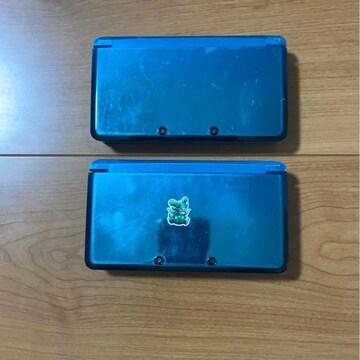 任天堂 3DS本体ジャンク品 2台まとめ売り 1円スタート