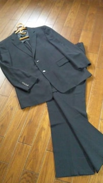 【即決】renoma◆レノマ◆濃紺正統派◆高級テーラードスーツ