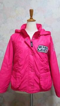 ジェニィ/JENNI☆フード付きジャンパー/ピンク・150 クリーニング済み◎