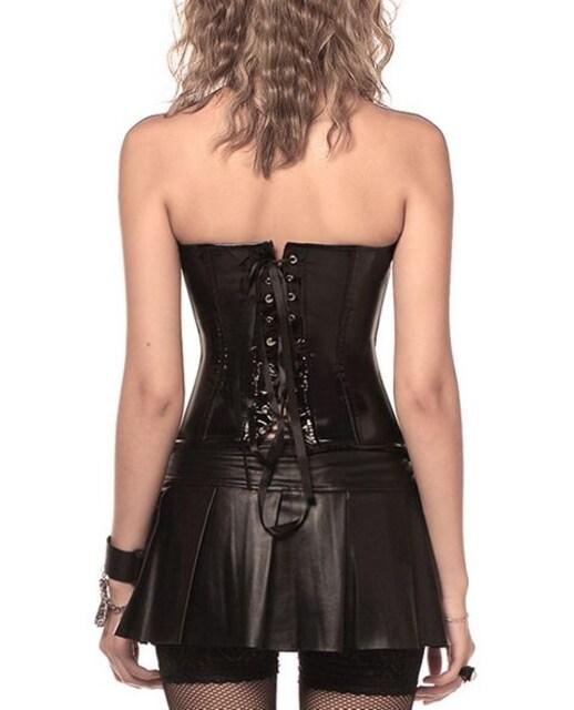 エナメル クロッシーベルト コルセット(M寸) < 女性ファッションの