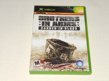 xbox★BROTHERS IN ARMS EARNED IN BLOOD 海外版 ケース痛み