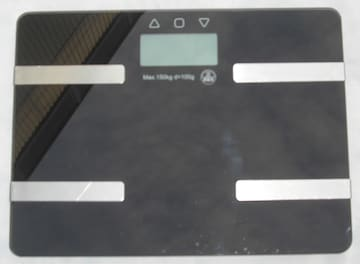 Digital Electronic Body Scaleヘルスメーター中古完動品1211