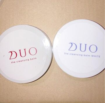 2種類セット 未開封 新品 クレンジングバームデュオ ホワイト