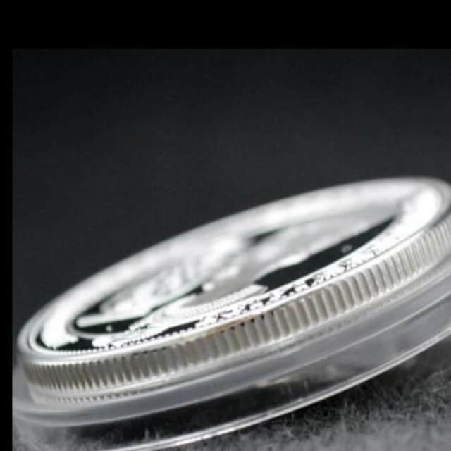 ◆シルバー クレオパトラ コイン 新品 < ホビーの