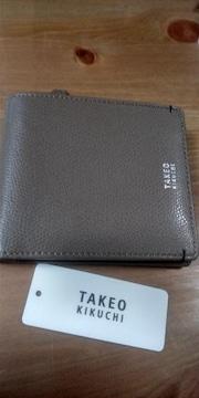 新品TAKEO KIKUCHI★メンズ革財布16500★レタパライト込み