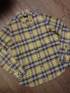 美品SHIPS JET BLUE チェックシャツ シップス 日本製