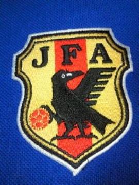 サッカー 日本代表 デザイン SONY ソニー 刺繍 ポロシャツ ブルー Lサイズ