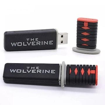 刀型 USBメモリ 32GB USBフラッシュメモリ 大容量 ウルバリン