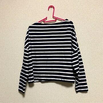 ☆ナノユニバース ボーダーTシャツ☆