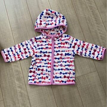 UNIQLO baby暖かフリースフード付きジャンバー80