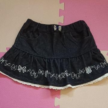 anyFAM☆インナーパンツ付スカート☆size110