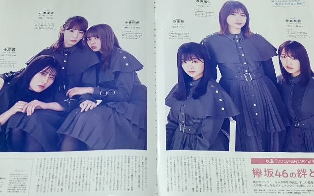 ★欅坂46★切り抜き★映)DOCUMENTARY of 欅坂46  < タレントグッズの