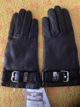 ジバンシィ 羊皮革手袋ニットインナー20S