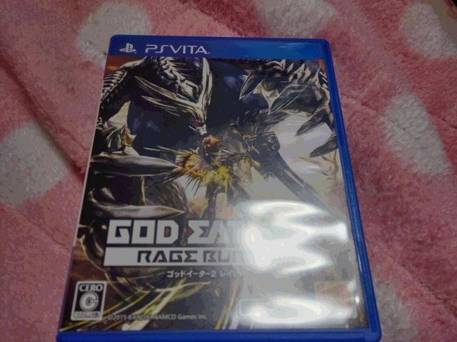 PS vita ゴッドイーター2 レイジバースト  < ゲーム本体/ソフトの
