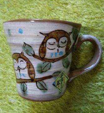 フクロウ マグカップ