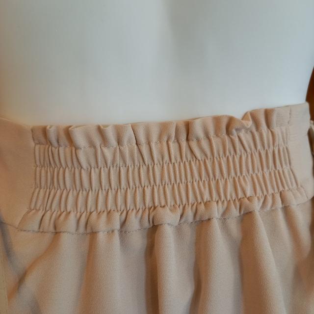 【訳あり】ひざ丈フレアスカート★ベルト付きギャザースカート★ < 女性ファッションの
