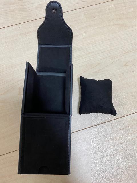 美品 オーデマピゲ 空箱 時計ケース 黒 < ブランドの