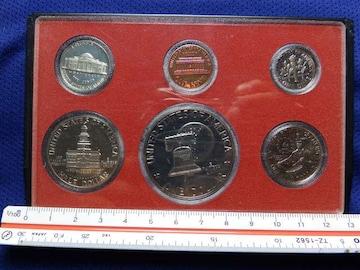 アメリカ プルーフ硬貨 セット ケース付
