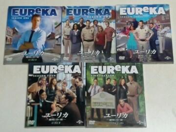 DVD[海外ドラマ/完結] EUReKA/ユーリカ 地図にない街 コンパクトBOX