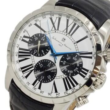サルバトーレ マーラ クオーツ メンズ 腕時計 SM15103-SSWH