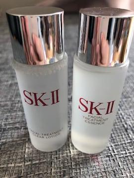 SK-II エッセンス30ml、クリアローション30ml