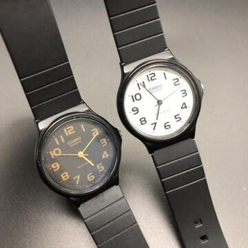 即決 CASIO カシオ 腕時計 MQ-24 2本セット
