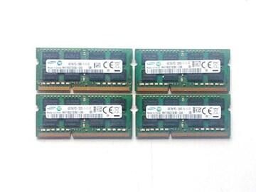 ★メモリ サムスン PC3-12800 4GB 4個セット