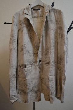 14thaddiction  リネンテーラードジャケット