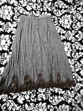 新品 超激カワ裾レースプリーツスカート(///ω///)♪入学式に(///ω///)♪