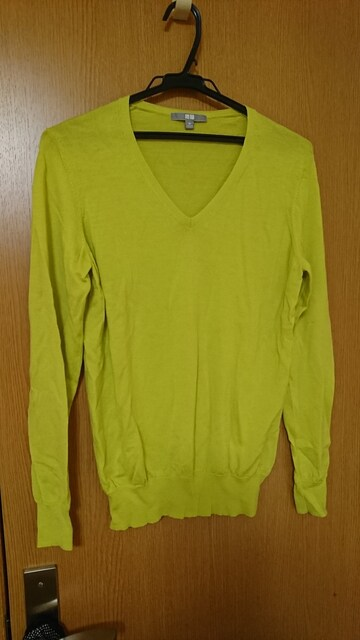 XL / Vネックセーター  < 女性ファッションの