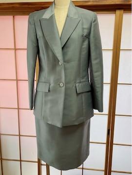 Y085 ハナエモリ スカートスーツ セットアップ 38 ジャケット