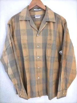 McGREGOR(マクレガー)60s 開襟ボックスシルエットシャツシャツ