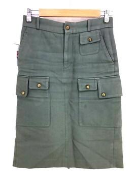 SCYE(サイ)コットン ツイル タイトスカートタイトスカート