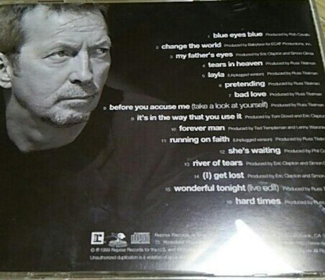 国内盤ベストCD エリッククラプトン BEST OF eric clapton < タレントグッズの