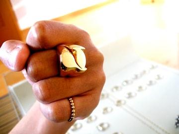 仁尾彫金『ゴールド7リング』ハンドメイド25