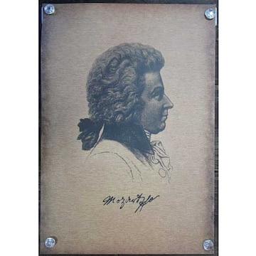新品【ポスター】Wolfgang Amadeus Mozart/モーツァルト