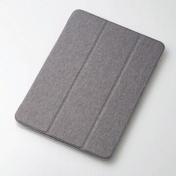 ★ELECOM  iPad Pro 11インチ フラップカバー  グレー