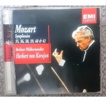 KF  モーツァルト 交響曲第35番 36番 38番 39番 40番 41番