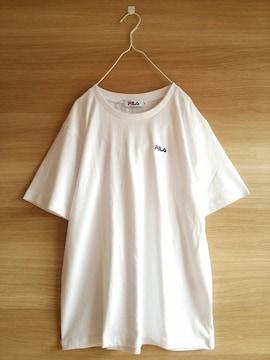 新品FILA*半袖Tシャツ*未使用フィラ*レディース*白色ホワイト