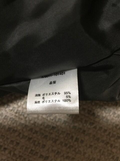633.ファヴォリ☆冬コート☆ノーカラー☆ダークブラウン/濃茶 < 女性ファッションの
