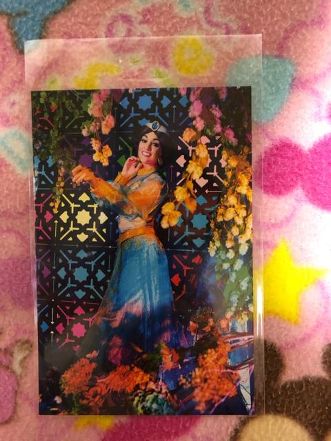 ディズニーリゾート ポストカード ジャスミン プリンセス  < おもちゃの