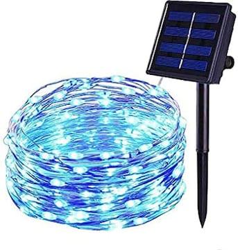 ソーラーイルミネーションライト 屋外 電飾 クリスマスツリーled