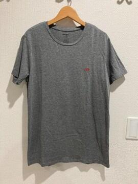 DIESEL ディーゼル 半袖 tシャツ グレー トップス メンズ M クルーネック シャツ
