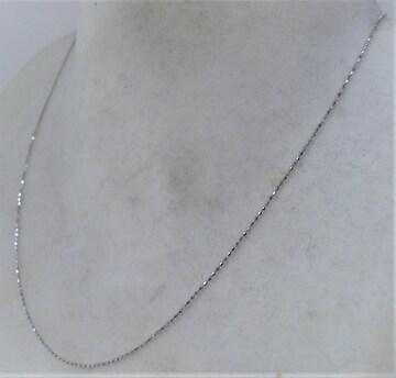 K18 18金 ホワイトゴールド デザイン ネックレス a