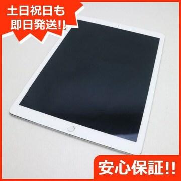 美品●SIMフリー iPad Pro 12.9インチ Cellular 128GB シルバー