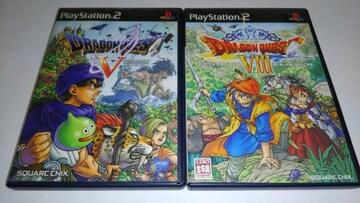 PS2/【送料180円】ドラゴンクエスト�X+�[【説明書付き】★即決★