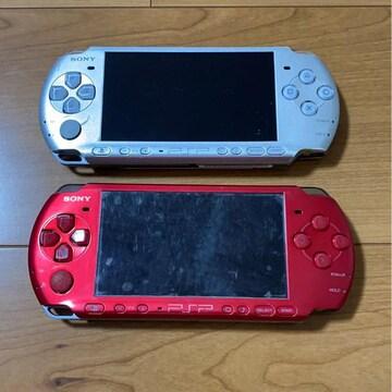 SONY PSP3000番 ジャンク品2台まとめ売り1円スタート