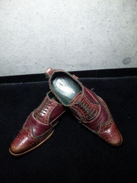 アルフレッドバニスター〓レースアップシューズ靴〓41/赤茶系〓  < ブランドの